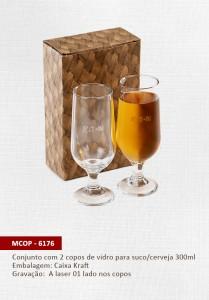 Brinde Copo vidro cerveja